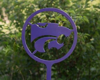 Kansas State University - Wildcats - K-State - Powercat - Garden Decor - Outdoor Decor - sign - NCAA - Lawn Decoration