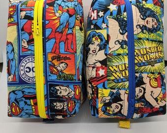 Wonder Woman Comics Super Hero  Foldable Bag Purse Hook Hanger Woman Power