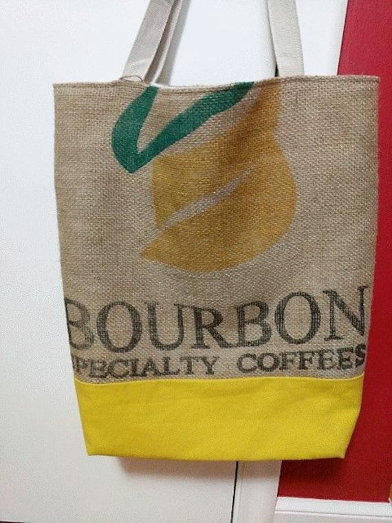 Coffee Bean Sack Tote Bag