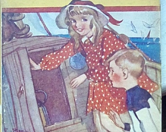 The Pirate Ship .Sunny Series 1930 book