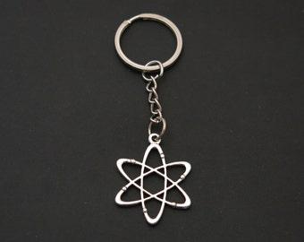 Atom Chemistry & Physics Keychain (Item #406)
