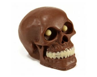 3D Chocolate skull candy gifts corporate party favors halloween skull lover gift medical student skull human skull chocolate skulls gift