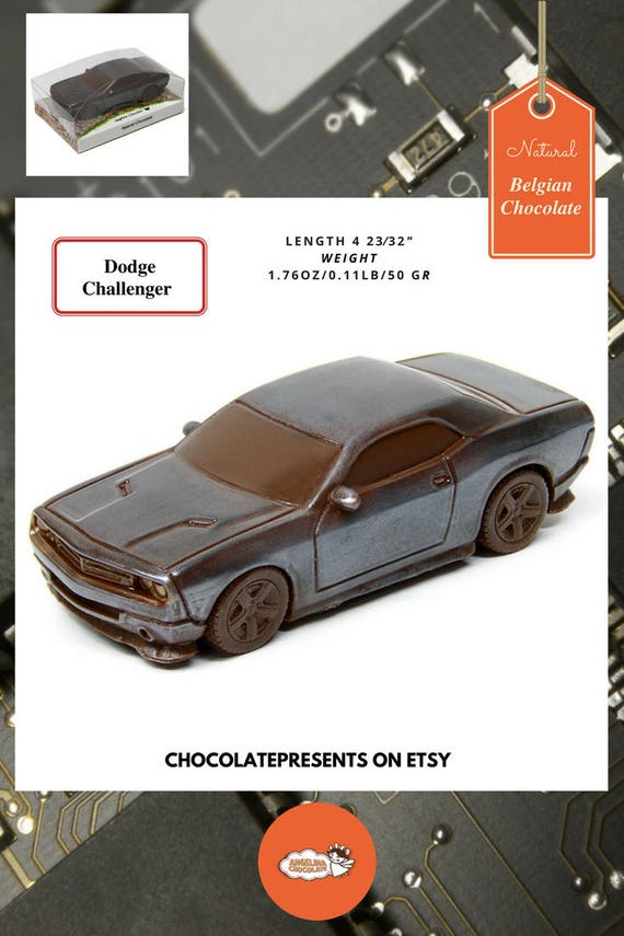 Auto Art Chocolate Car Dodge Challenger Concept Cars Lovers
