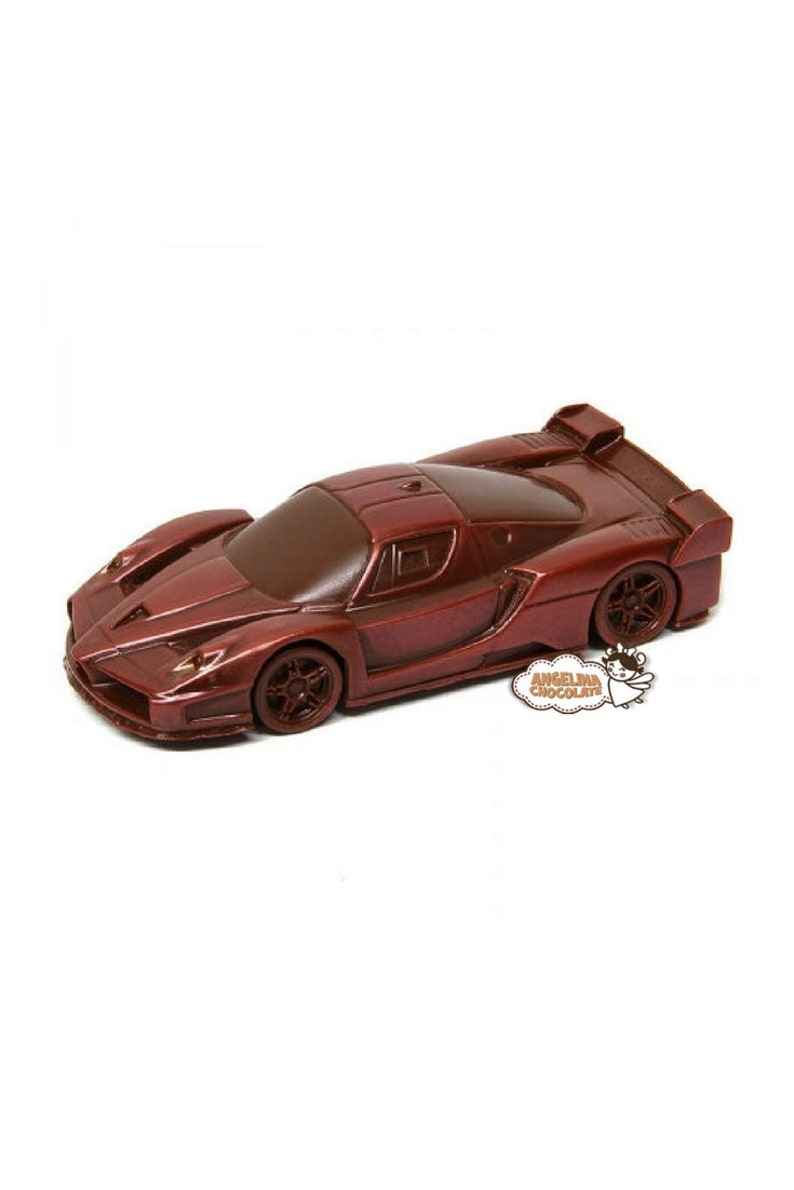 Chocolate Similar Ferrari Car Edible Cake Topper F1 Racing Etsy