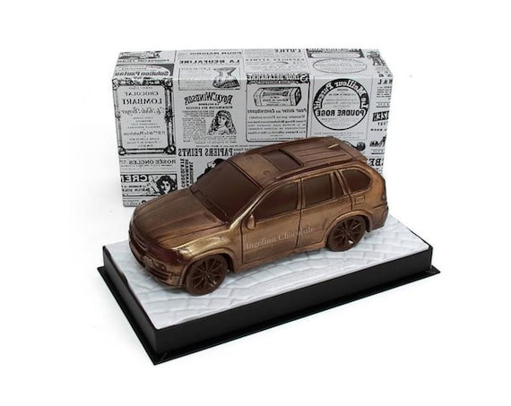 Chocolate Car BMW X5 Large 330g Birthday GiftForGrandpa