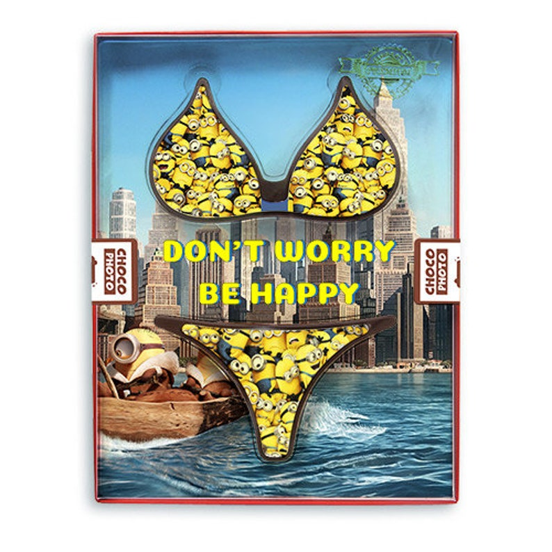 866f4445b8674 Funny bikini chocolate copy swimsuit beach party food swimming