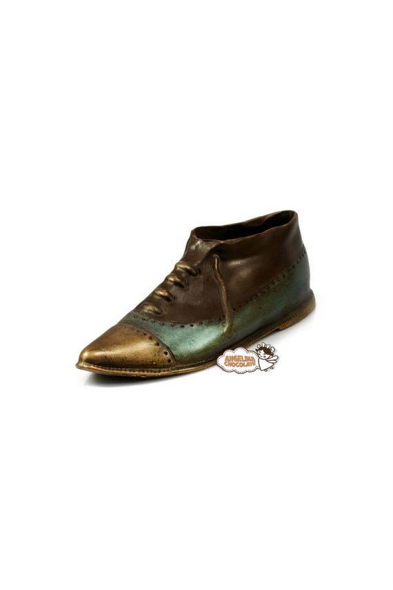 Chocolate Shoe Mens Birthday Gift Mafia Gangster