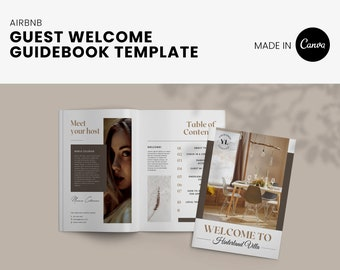 Airbnb Host welcome guidebook, could edit for VRBO too