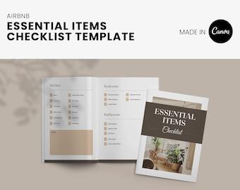 Airbnb Host essential item checklist