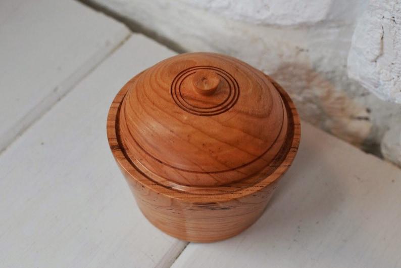 Black Cherry Lidded Bowl