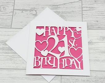personalised birthday card birthday card birthday girl etsy