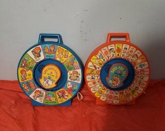 Vintage See N Say Toy set
