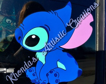 Disney Inspired Lilo Stitch Decal