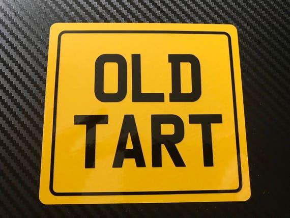 Old fart Vinyl Decal Sticker