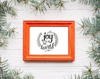 Joy to the World- Digital Print