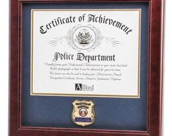 certificate frame etsy