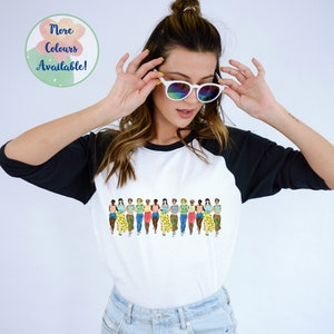 feminist art feminist t shirt aesthetic clothing All-Over Print Crop Tee feminist crop top