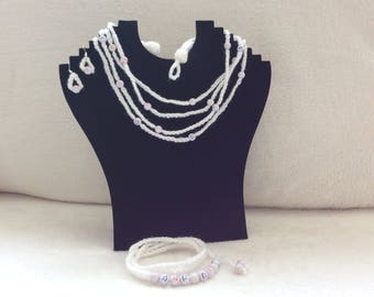 Crocheted Jewellery Set
