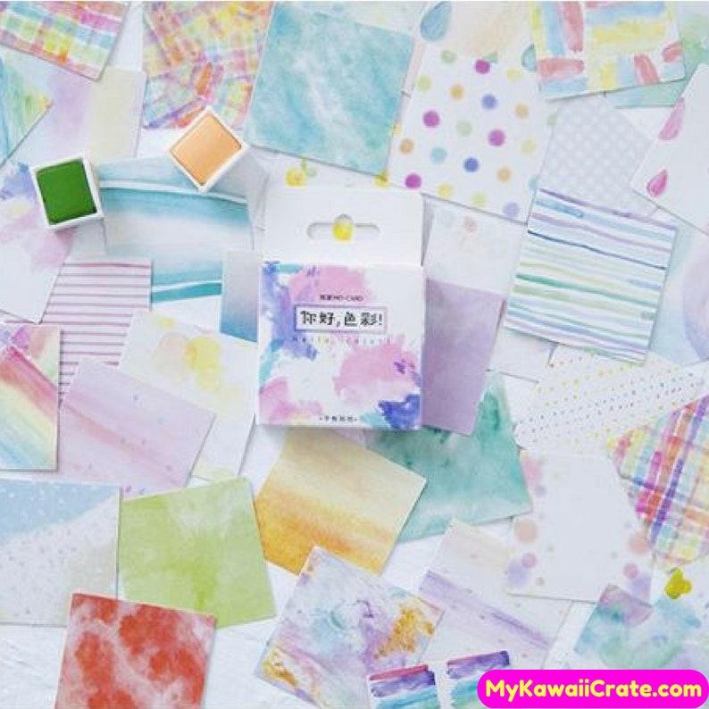 Japanese Good Day Decorative Stickers 45 Pc Pk DIY Scrapbooking Planner Sticker