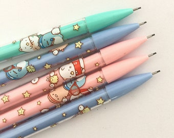 3 Pc Kawaii Sumikko Gurashi & Friends Mechanical Pencils ~ Cute Cartoon Animals Automatic Pencil, School Supplies, Stationery, Pencil Set