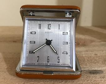 Vintage Equity Travel Alarm Clock