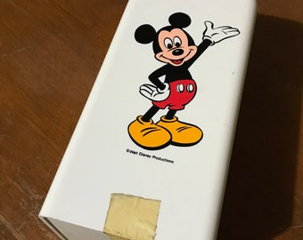 Vintage Mickey Mouse Dixie Cup Dispenser