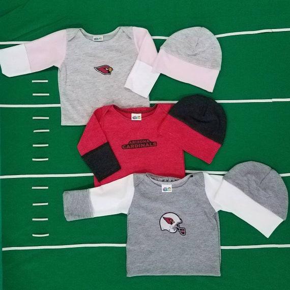 4ae46f043 Arizona Cardinals Baby Newborn Sleep Gown with beanie baby