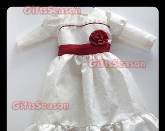 inspired halloween costume annabelle 2018 kid child girl costume cosplay baby 2 4 6 size