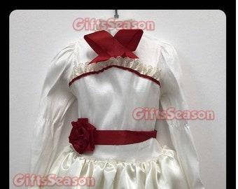 inspired halloween costume annabelle 2018 kid child girl costume cosplay model 2