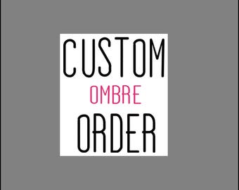 CUSTOM Ombre Scratching Post Order