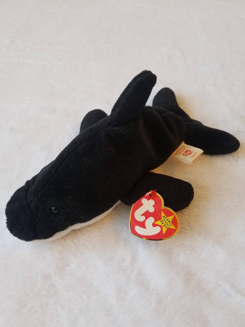 bcf003d223d Ty Beanie Baby 1993 SPLASH The Whale