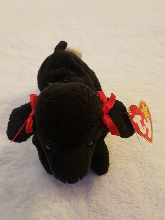 Ty Beanie Baby GiGi The POODLE Dog Excellent Condition  8122c6a59360