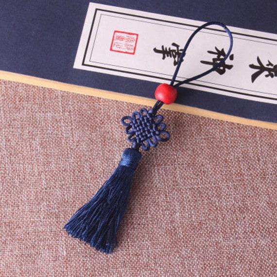 25pcs 120MM chinois noeud glands, pompons en soie, fabrication main de bijoux glands, pompons fait main fabrication YD018 6e3fb1