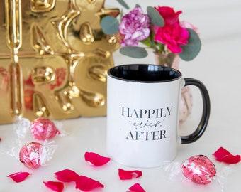 Happily Ever After Coffee Mug, Wedding Mug Gift, Bride Mug, Mug Wedding Gift for Her, Princess Bride Mug, Fairytale Wedding Mug Gift