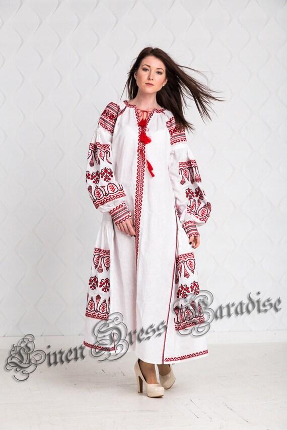 Embroidery Summer Dress Dress Designs Dress Peasant White Maxi Dress Embroidered Dress Bohemian Womens Embroidered Abaya Vyshyvanka Dress qPIUZzpw