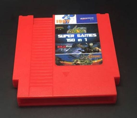 150 in 1 Game Cartridge for Nintendo NES Classic Retro Games Rockman donkey  kong Terminator Contra Life Force Popeye 143 in 1 NES Super
