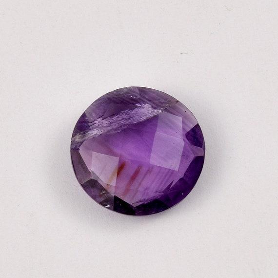 Round Cut AAA Sapphire Quartz Pierres précieuses anneaux argentés Taille 6 7 8 9 10 11 aider...