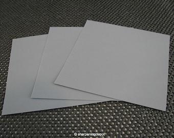 3M Polishing Lapping Film 5 Micron PSA Adhesive SIC (Qty x3 Sheets) Knife Tool Razor