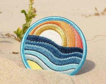 Sunset Patch - Sunrise Patch - Ocean Patch - Beach Patch - Wave Patch - Saltwater Patch - Australia Patch - Nature Patch - Colourful Patch
