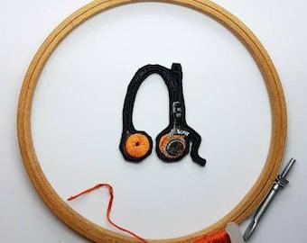 Love My Beatz Headphones Patch Music Theme Patches