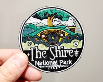 The Shire National Park - Iron On Patch