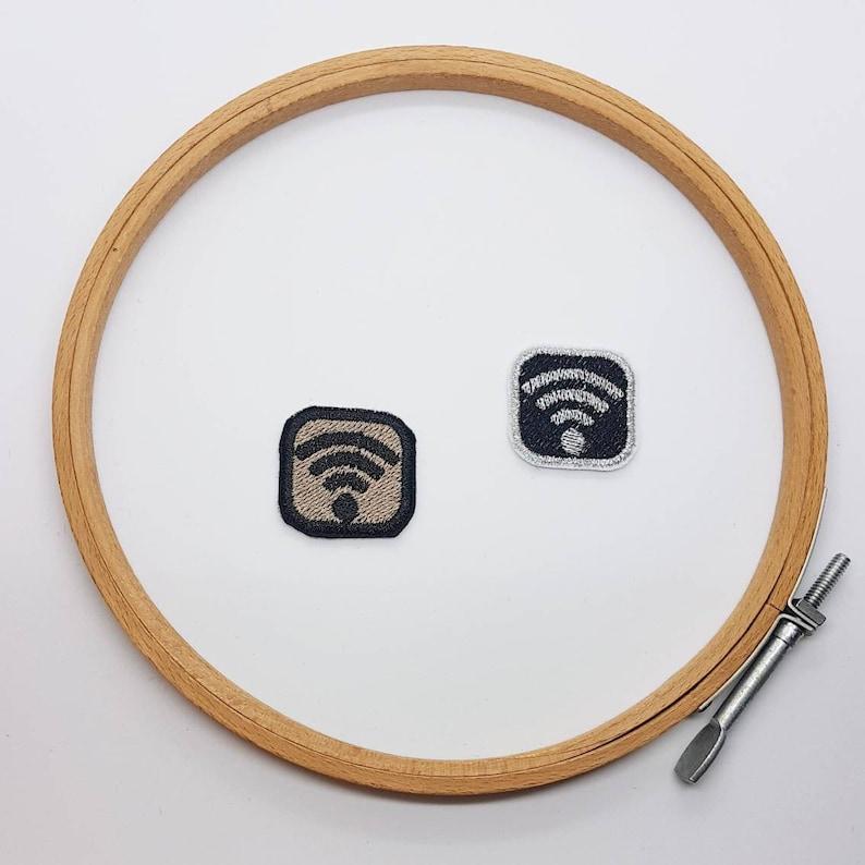 Wifi Shiny Patch 1 x 1 in