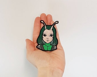 Space Character, Alien - Iron On Patch