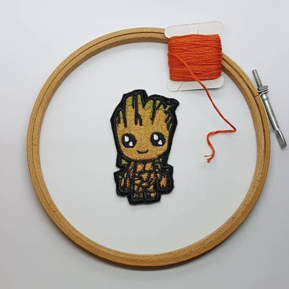 thermocollant écusson patch iron patch Groot