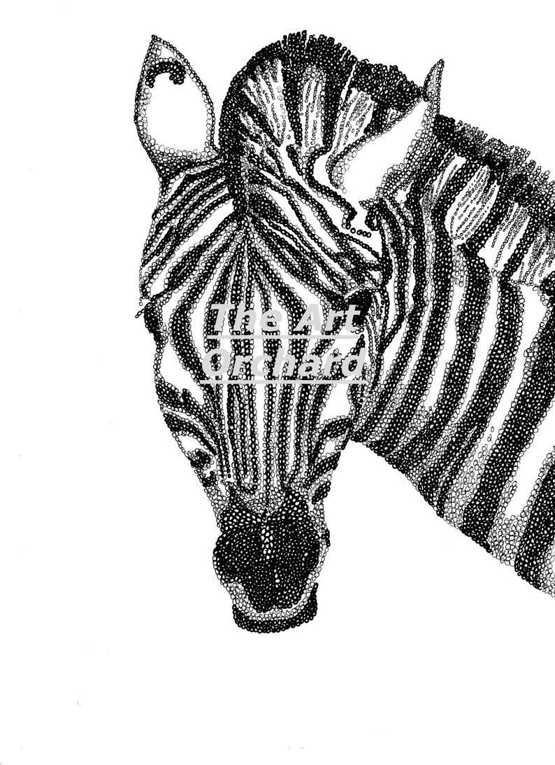 Coloriage Maison Adulte A Imprimer.Imprimer A La Maison Zebre Image De Coloriage Adulte