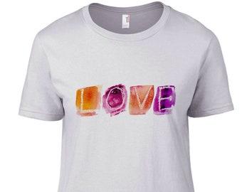 LOVE - Women's White T Shirt