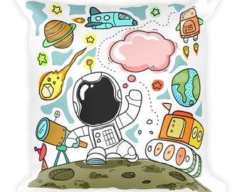 Astronaut - Square Pillow