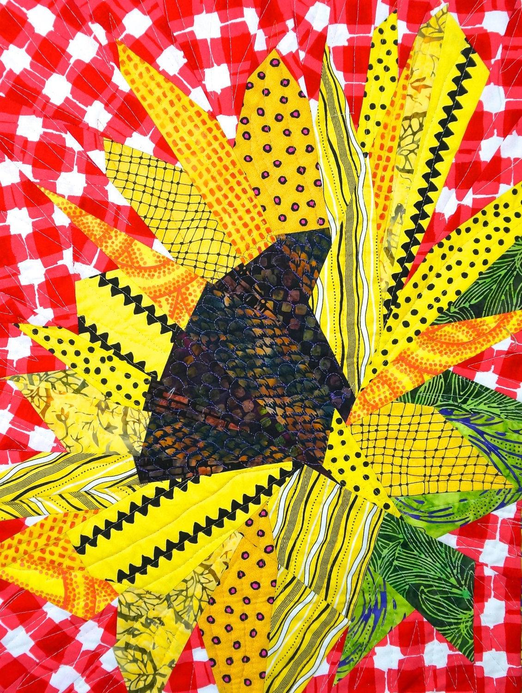 Sunflower Quilt Pattern Etsy