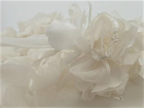1950's-1960's Tiara Flower Veil Headdress Crown B… - image 10