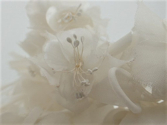 1950's-1960's Tiara Flower Veil Headdress Crown B… - image 8